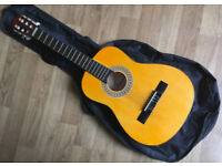 Falcon FG103 1/2 Size Kids Spanish Classical Guitar with carrying bag 6 nylon String