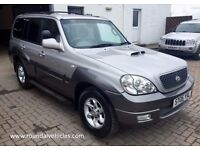 VERY CLEAN 2005 Hyundai Terracan 2.9 CRD CDX DIESEL 4x4 LWB, 96k mot until Sept, hist, both keys !!