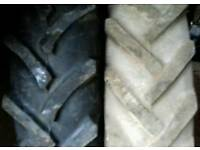 "Tractor tyres 12.4 x 36"" £130 the pair"