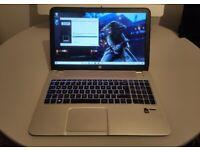 GAMING HP ENVY LAPTOP 15,6 - QUAD CORE AMD - 16GB RAM - SSD - DEDICATED RADEON - WARRANTY - DELIVERY