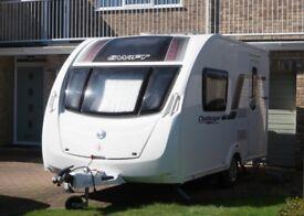 2012 Swift Challenger 2 berth caravan