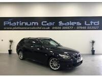 BMW 5 SERIES 520D M SPORT BUSINESS EDITION TOURING (black) 2010