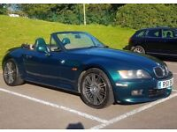 Bmw Z3 2.8 Auto + fsh + Hardtop + aircon + leather seats