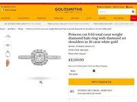 Goldsmiths Engagement ring still in store