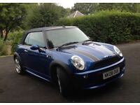 MINI Convertible 1.6 Cooper S with John Cooper Works trim. 65,500 miles. MOT March 2019.