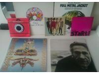 Vinyl record lot ironmaiden,the jam rolling stone