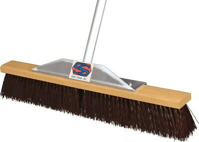Super Sweeper 1000-101036 36 in. Maroon Poly Super Sweeper Broom ()