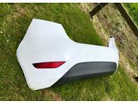 Fiesta mk7 rear bumper white
