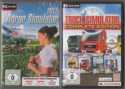 Truck Simulator Complete Edition + Agrar Simulator 2012 Sammlung PC Spiele (Truck Simulator Pc Spiele)