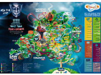 *'One Shot' FASTTRACK FREE* THORPE PARK TICKETS
