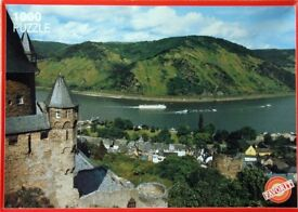 Favorit 1000pc Jigsaw Puzzle - River Rhine, Germany