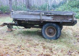 FARM TIPPING TRAILER - £195 o.n.o.