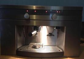 Electrolux espresso coffee machine