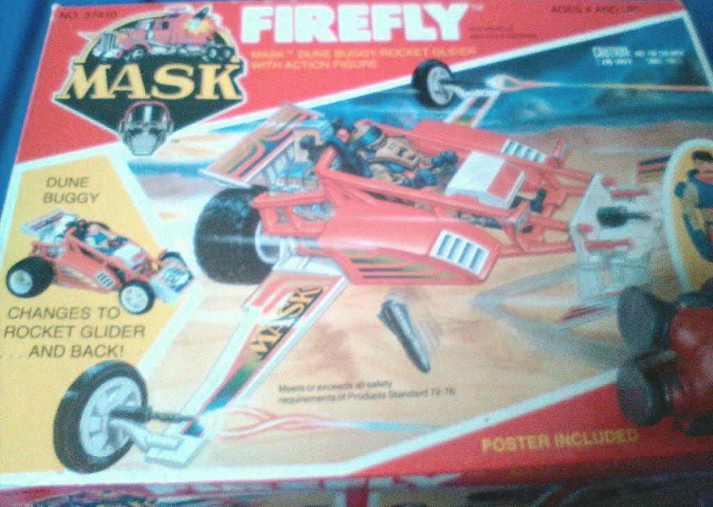 BOXED MASK FIREFLY VEHICLE AND FIGURE