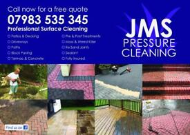 Professional pressure cleaning.