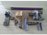 dyson v6 good clean condition with a brand new battery