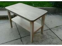 Small coffee table (solid wood)