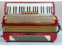 Hohner Musette III Accordion - 3 Voice - 120 Bass - In Great Condition