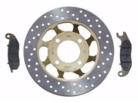 Honda Innova ANF125 ANF 125 NEW Front Brake Disc & Pad Kit 2003 - 2012