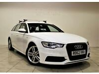 AUDI A6 2.0 AVANT TDI S LINE 5d AUTO 175 BHP + 1 OWNER + SERVICE HISTORY (white) 2012