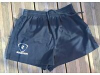 Rugby Shorts Black 26-30in waist