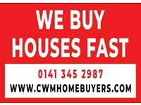 We Buy Your House For Cash!