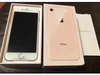 Apple iPhone 8. 256GB. Gold. O2. Brand New