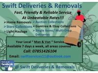 Swift Deliveries & Removals