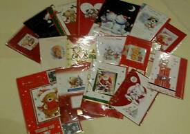 16 Assorted Christmas Cards