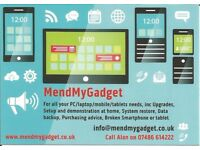 IT Support, Repairs and Training inc PC, Mac, laptops, tablets, smartphones