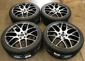 18 Black/Machined Wheels 5x112 and All Season Tires 245/40R18 (AUDI CARS) Calgary Alberta Preview