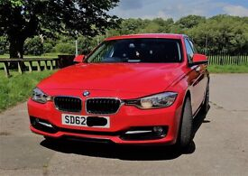 2012 BMW 318d Sport in Melbourne Red