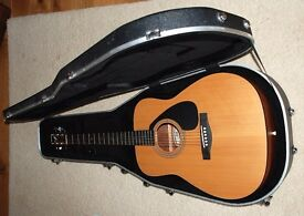 Yamaha FG-403MS Acoustic Guitar Including Stigg Hard Case