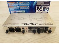 EDIROL ROLAND Capture UA-5 USB Audio Interface - Boxed