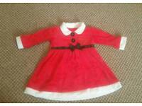 Baby Mrs Clause dress