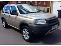 LIMITED EDITION 2003 LAND ROVER FREELANDER TURBO DIESEL WITH TOW BAR AND ELECTRICS FOR SALE!!