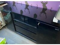 Black gloss Next sideboard