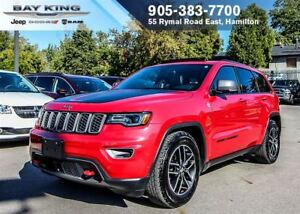 2017 Jeep Grand Cherokee TRAILHAWK 4X4, SUNROOF, GPS NAVI, TRAIL