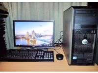 Dell Optiplex 780 Desktop PC with 19 inch LCD Monitor Full Setup