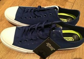 Converse Mens blue All Star trainers Size 10 new unused £30