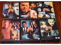 24 - Seasons 1 to 6 - DVD PACK