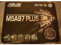 New unused AM3+ motherboard. Was for Pc build, but now have built a 8th Gen intel Pc instead.