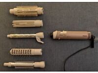 Curling Tongs & Heat B rushes: Philips Pro Air Styler Quattro
