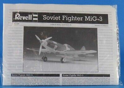 Revell 1:72 Soviet Fighter MiG-3 Plastic Model Kit 04372U