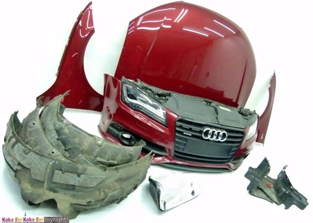 Car part: Single unit Front end - LHD Audi A7 4G 3.0 TDI quattro 2010-2016