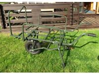 CARP FISHING BARROW excellent condition, used twice