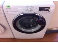HOOVER - White + Chrome, 9KG , 1600, Digital, A+++ WASHER + 3 Months Guarantee + FREE LOCAL DELIVERY