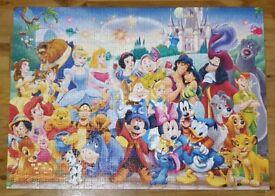 1000 disney jigsaw puzzle