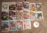 17 wii game lot