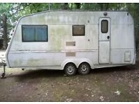 Caravan twin axle